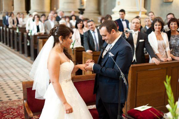 mariés à l'église de thionville